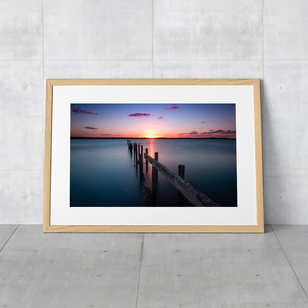 Cleveland Point Jetty Photograph