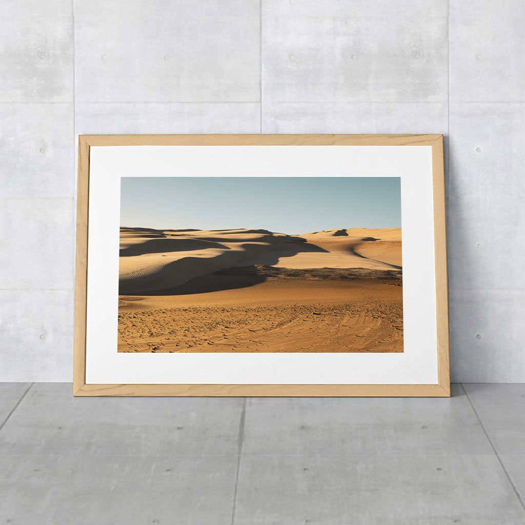 Australian Landscape Photography of Sand Dunes