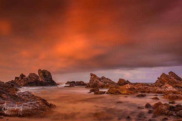 """Entering Mars"" – Burgess Beach Sunset"