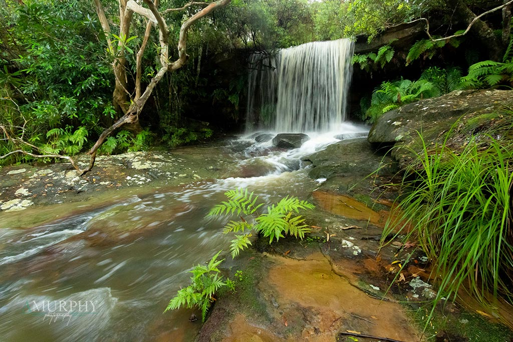 Photographing waterfalls in NSW
