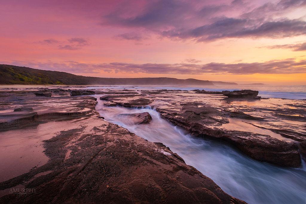 Sunrise at Dudley Beach, Newcastle NSW