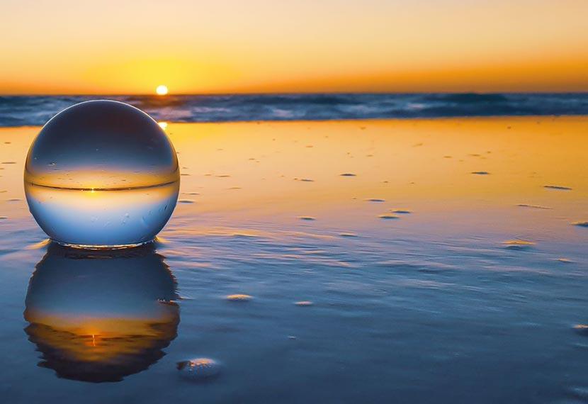 Landscape and Lensball Photography