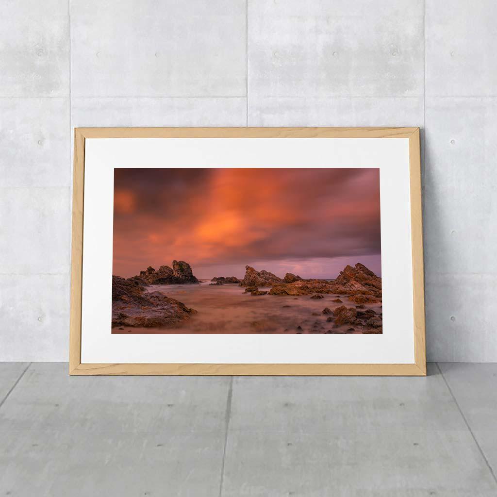 Australian Landscape Photo - Burgess Beach