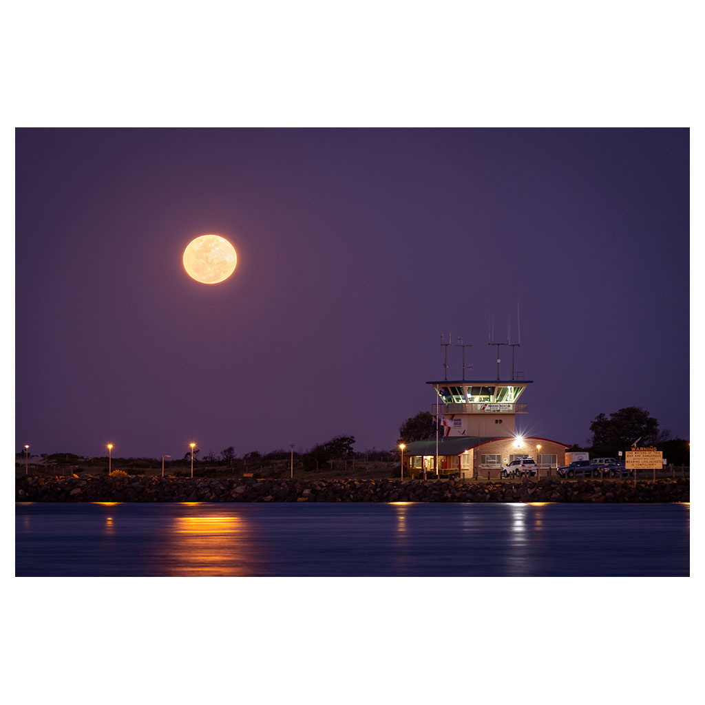 Full Moon over Forster-Tuncurry