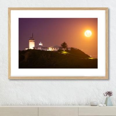 Supermoon Lighthouse